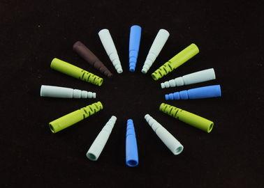 Γυαλίζοντας τα οπτικά φορμαρισμένα πλαστικό συστατικά στο χρώμα 7 ουράνιων τόξων χρώμα